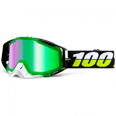 100% RACECRAFT SIMBAD IRIDIUM GREEN