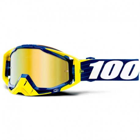 100% RACECRAFT BILAL/NAVY IRIDIUM GOLD