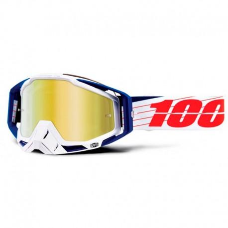 100% RACECRAFT BILAL/WHITE IRIDIUM GOLD
