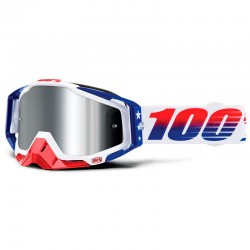 100% RACECRAFT PLUS LE MXDN IRIDIUM PLATA