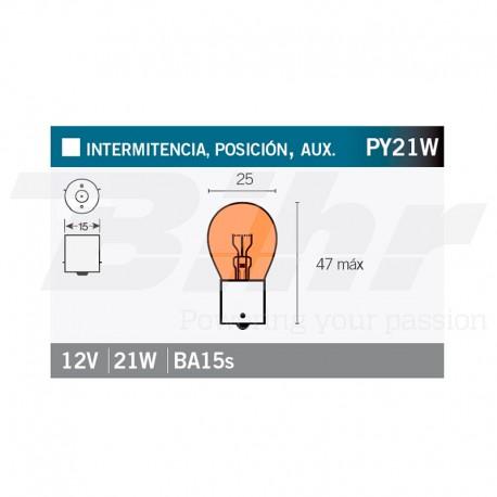 VICMA BULB BILUX BA15s 12V 21W