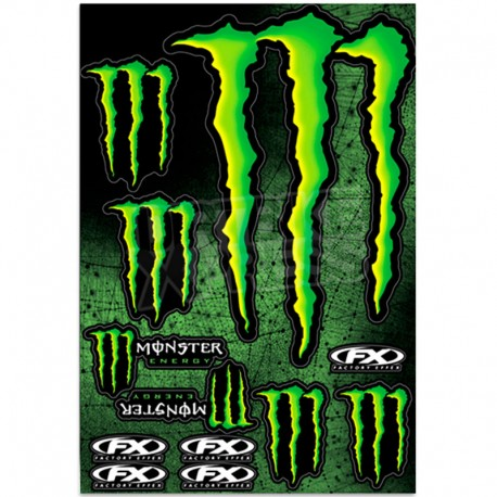 FACTORY FX MONSTER PEGATINAS KIT XL 2015