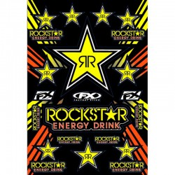 FACTORY FX ROCKSTAR STICKERS KIT - RCK