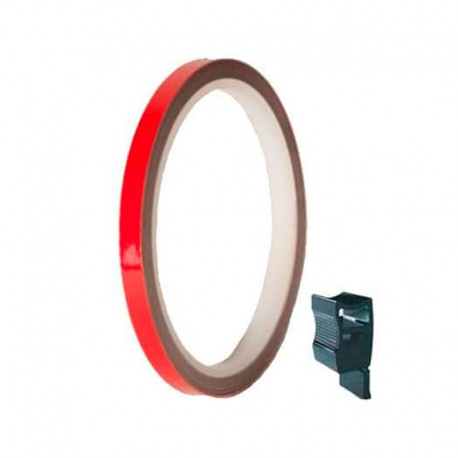 PUIG RIMS STRIPS UNIVERSAL RED