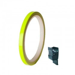 PUIG RIMS STRIPS UNIVERSAL YELLOW FLUO
