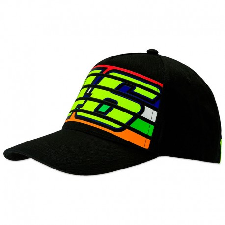 VR46 CAP 46 STRIPES 350204
