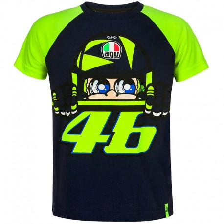 VR46 KID T-SHIRT CUPOLINO 353002