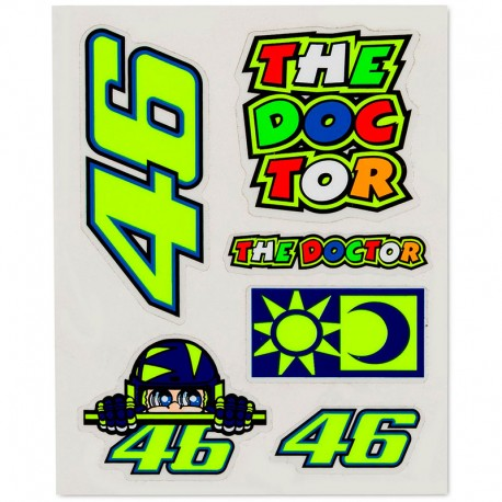 VR46 STICKERS SMALL 356703