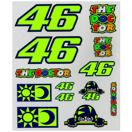 VR46 STICKERS BIG 356803