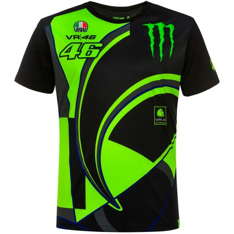 VR46 CAMISETA MONSTER 46 REPLICA 358304
