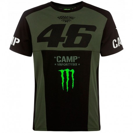 VR46 T-SHIRT 46 MONSTER CAMP 359808