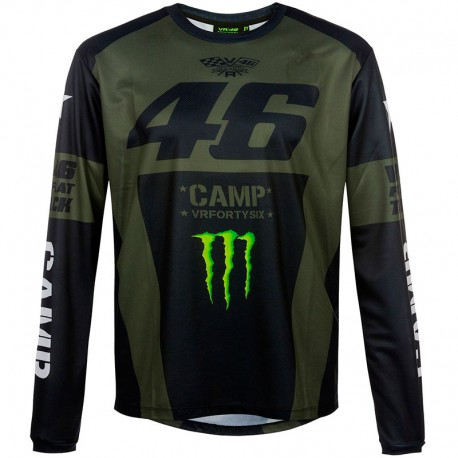 VR46 T-SHIRT 46 MONSTER CAMP LS 359908