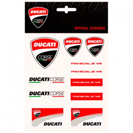 DUCATI PEGATINAS MEDIUM 1956003