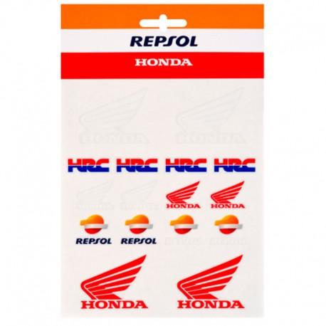 HONDA HRC STICKERS REPSOL MEDIUM 1958505