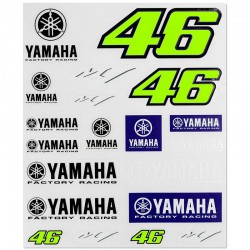VR46 STICKERS GRANDS YAMAHA VR46 363303