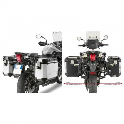 GIVI SUPPORT DE VALISES TRIUMPH TIGER 800 / XC / XR