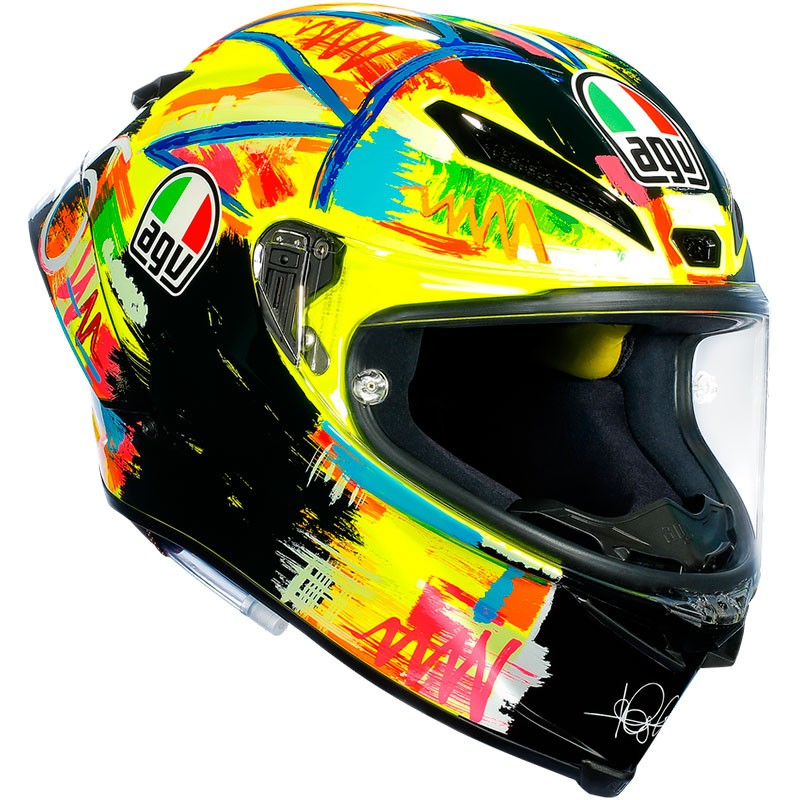 casco agv pista gp r rossi winter test 2019 mejor precio. Black Bedroom Furniture Sets. Home Design Ideas