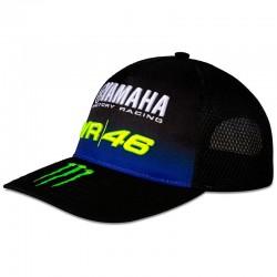 VR46 CAP YAMAHA MID VISOR 363804