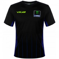 VR46 T-SHIRT YAMAHA BLACK 363904
