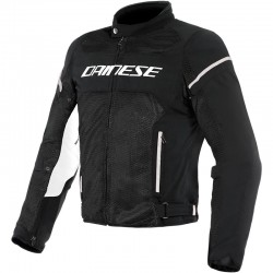 DAINESE AIR FRAME D1 TEX - Black/Black/White