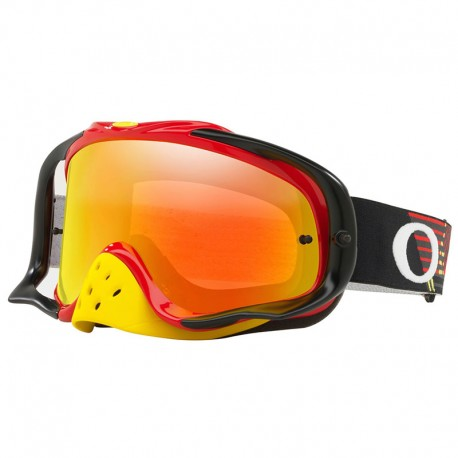 OAKLEY CROWBAR MX CIRCUIT RED / YELLOW