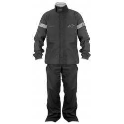 ALPINESTARS QUICK SEAL OUT JACKET&PANTS - Negro
