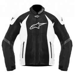 ALPINESTARS T-GP R AIR JACKET - Negro - Blanco